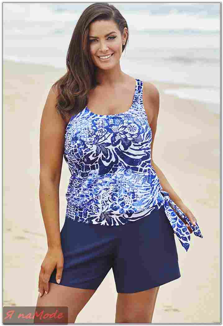Пляжная Одежда Для Полных