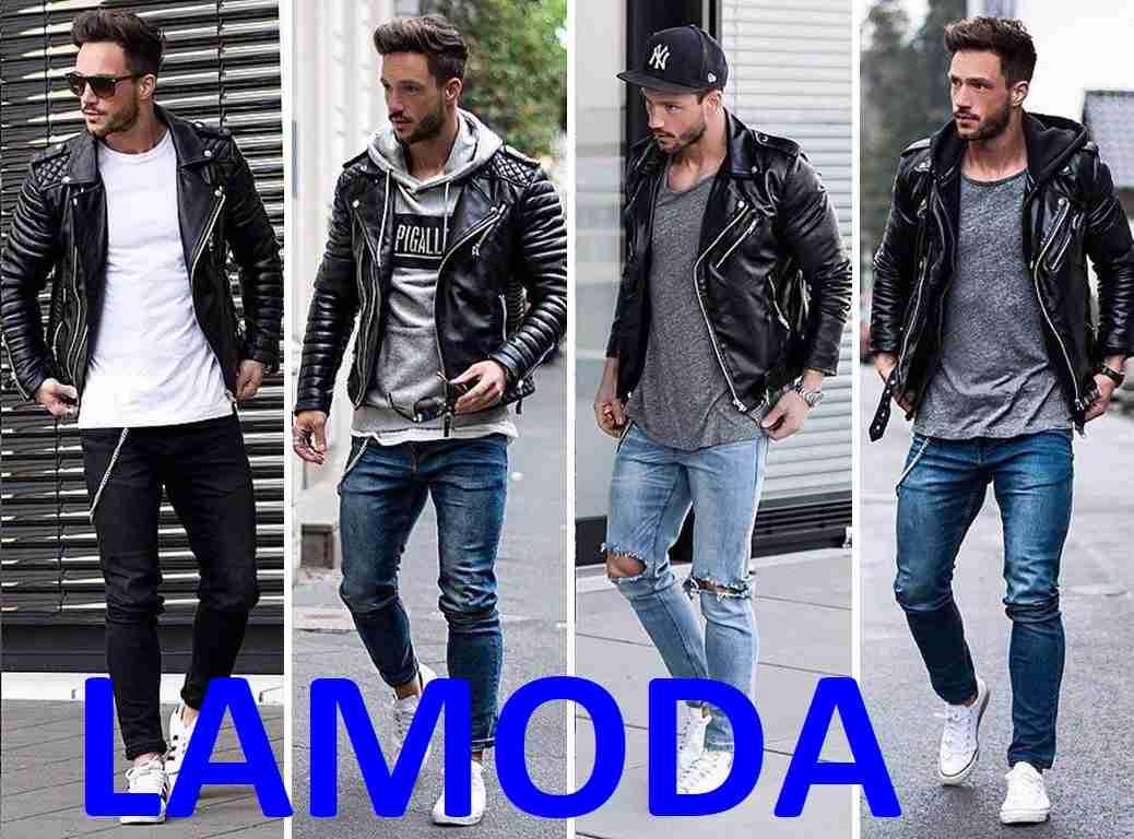 4d9153e2ec60 Мужские зимние кожаные куртки купить на распродаже Ламода и заказать  ветровку с Алиэкспресс или Вайлдберриз