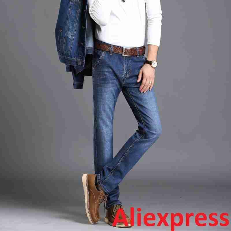 Мужские джинсы у Aliexpress