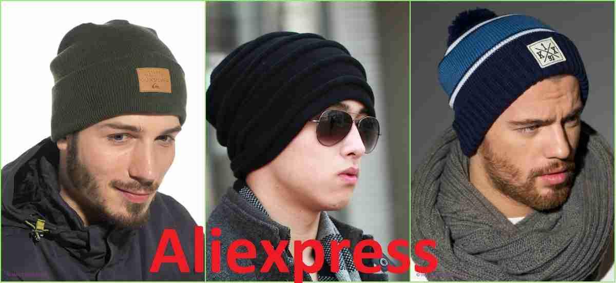Мужские головные уборы шапки и кепки с ali express