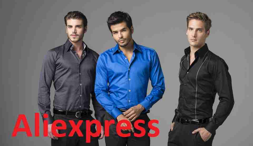 Мужские рубашки с aliexpress