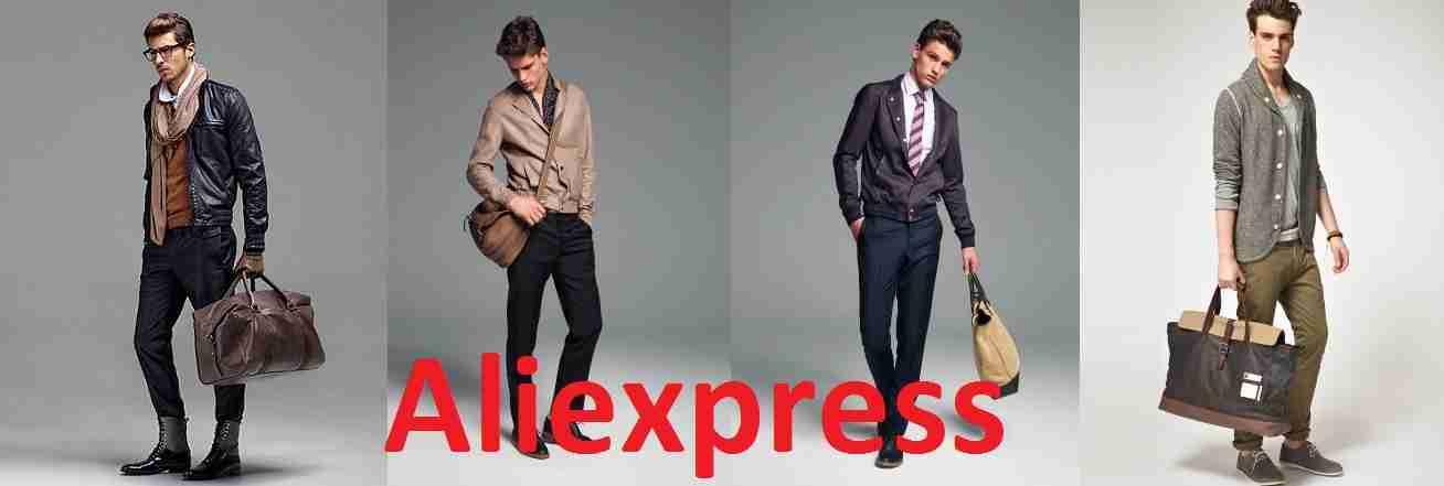 Сумки мужские с aliexpress
