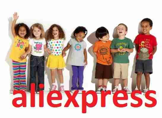 Детские майки и футболки на алиэкспресс