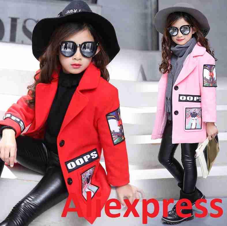 Модные детские куртки и комбинезоны на aliexpress