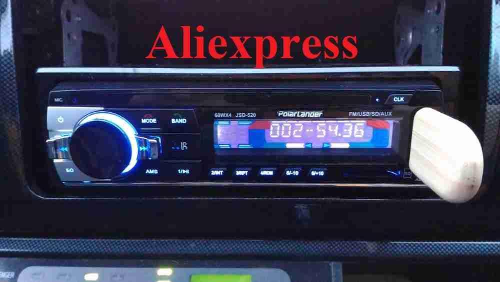 Недорогая и качественная автомагнитола на Aliexpress JDS520