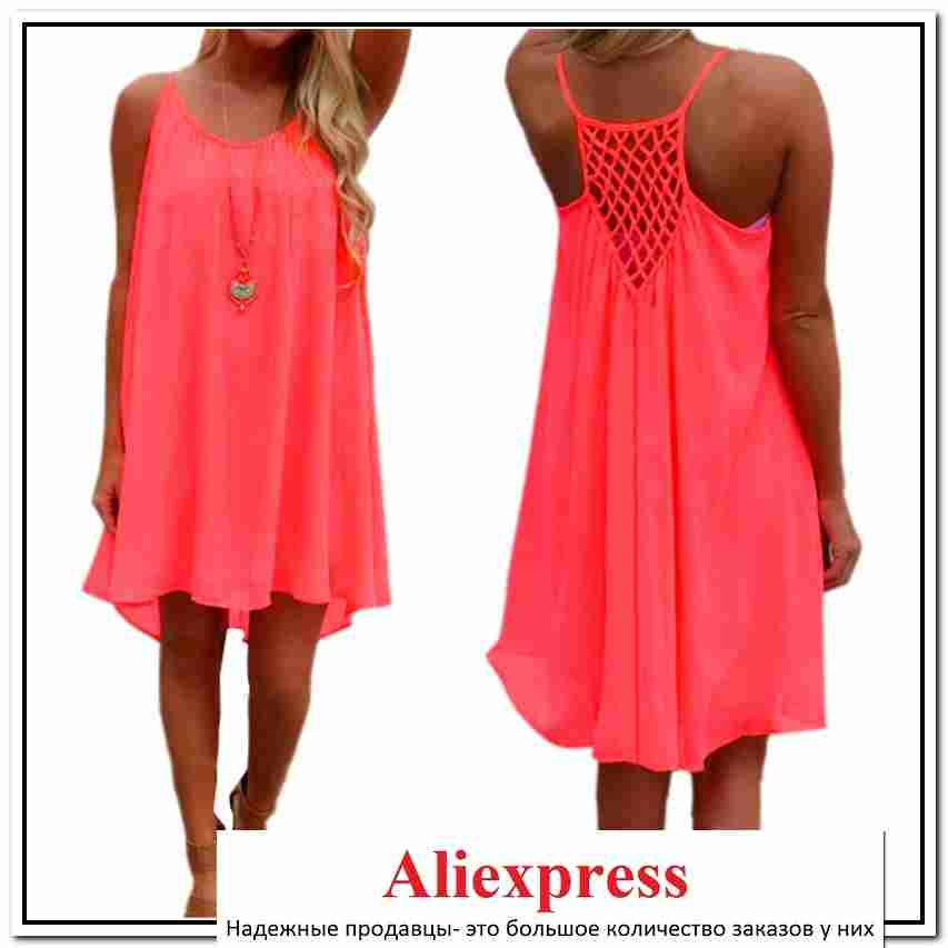 Женские платья с алиэкспресс